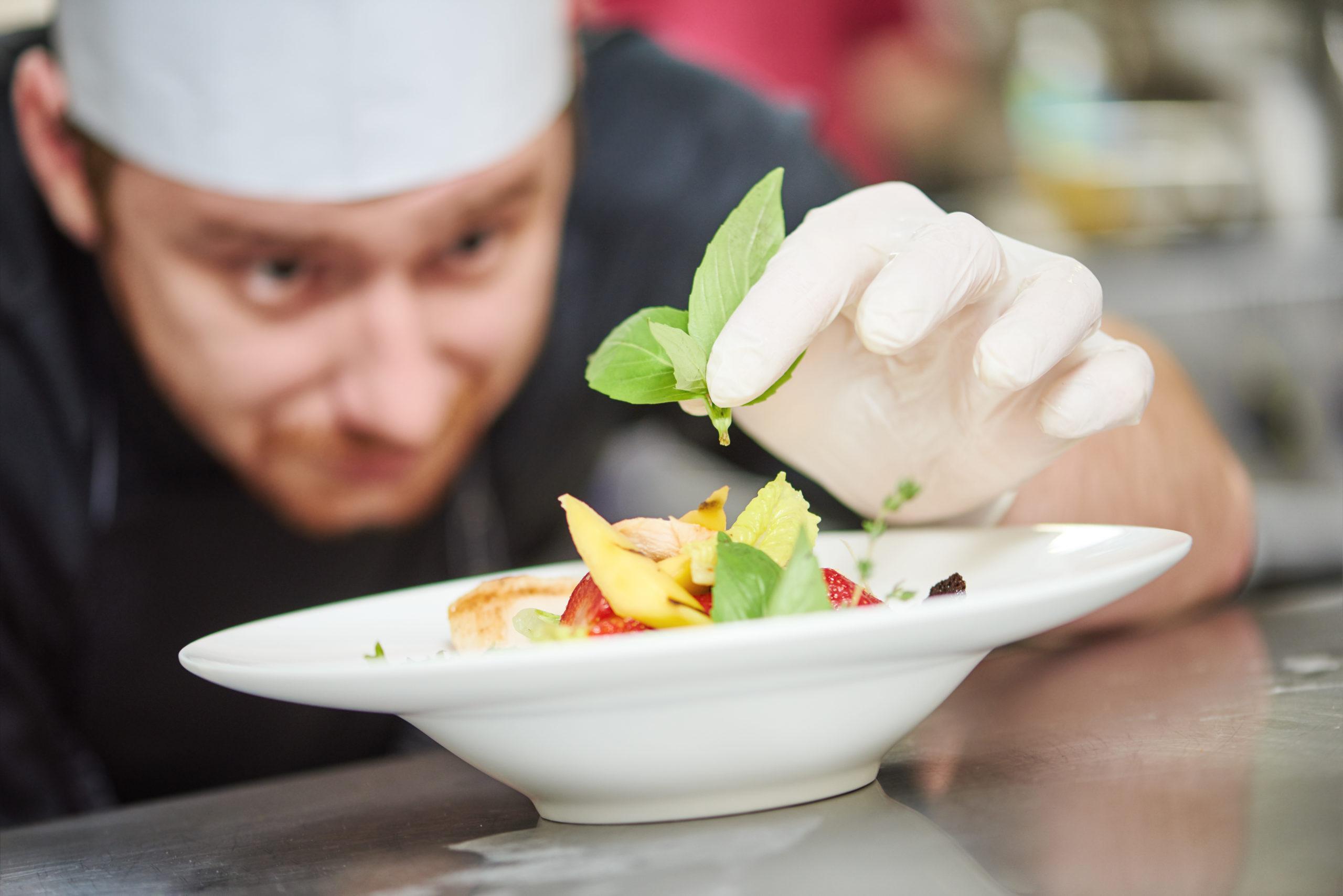 Kokk som bidrar til høy trivsel